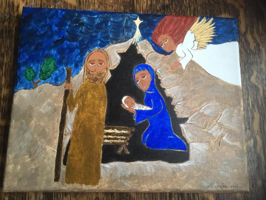 cave nativity blog